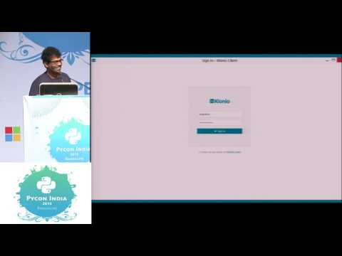 Image from Lightning Talk - Klonio - PyCon India 2015
