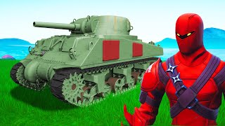 *NEW* TANK Build Challenge In FORTNITE!