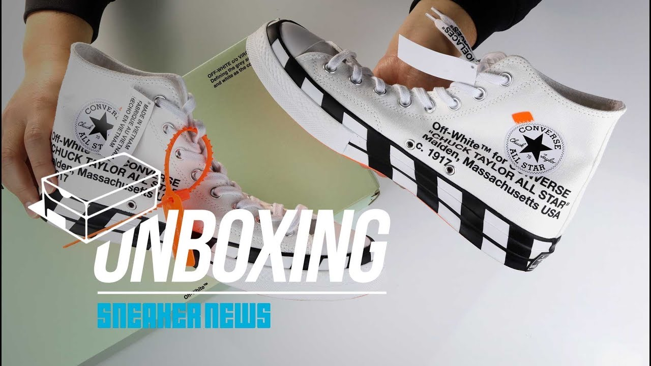 a571b05a3d4 Off-White Converse Chuck 70 - How to Buy + Unboxing   Review - YouTube