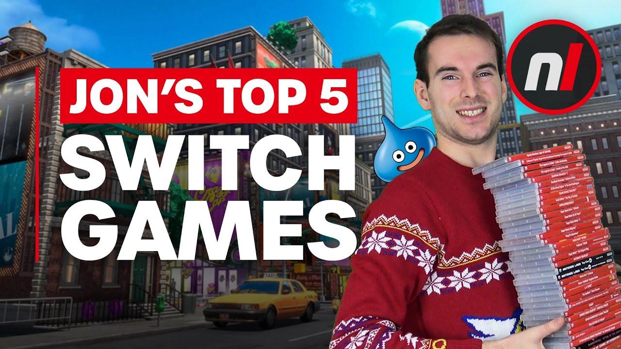 Jon's Top 5 Nintendo Switch Games – Nintendo Life