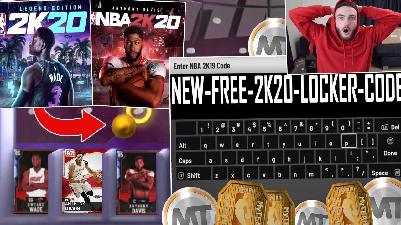 Anthony Davis, Dwyane Wade to cover NBA 2K20 video game