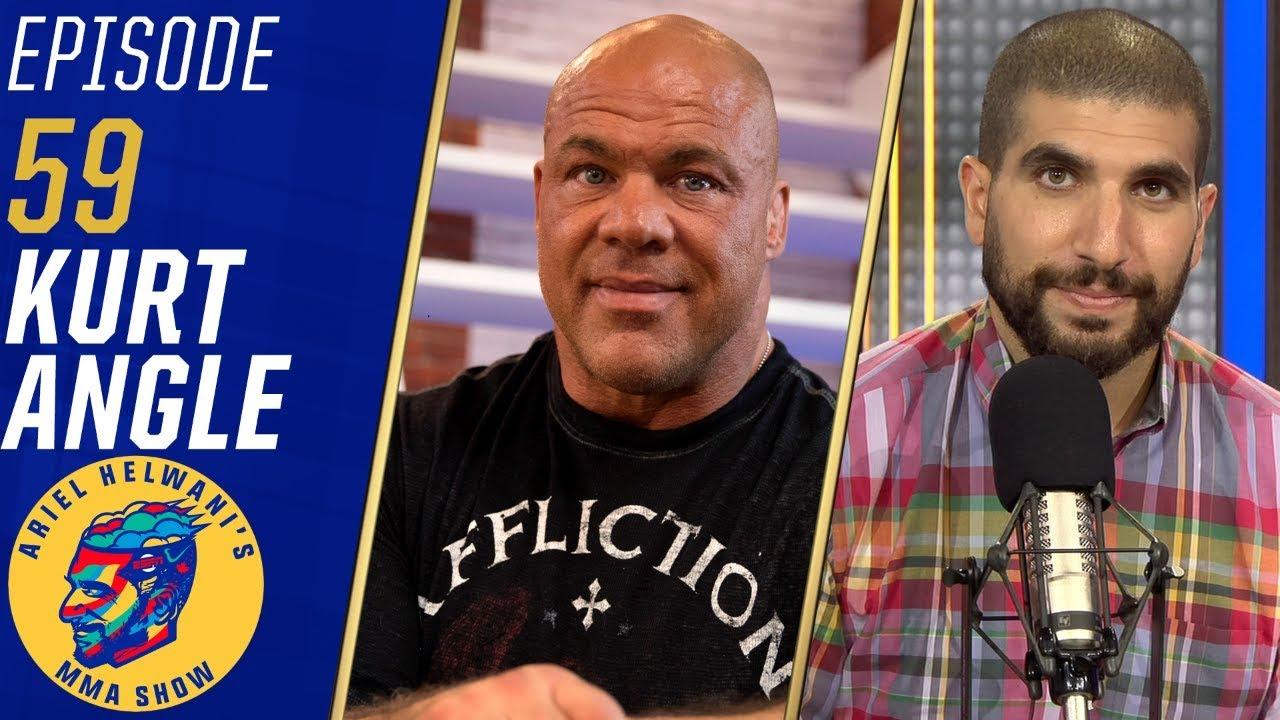 Kurt Angle: Brock Lesnar wants to fight Jon Jones | Ariel Helwani's MMA Show