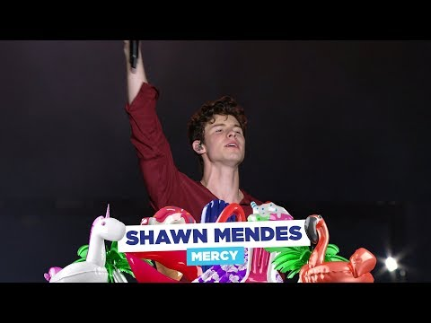 Shawn Mendes  Mercy'  at Capital's Summertime Ball 2018