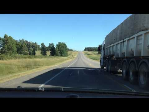 Road Trip from Uruguay to Argentina