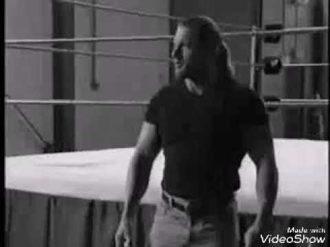 Triple H shows how to make fake punches....