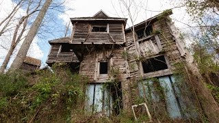 Abandoned Renaissance Festival in the Woods