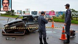 Comando 190 Araxá - Senhor de 58 anos, morre em acidente no trevo de Perdizes/MG