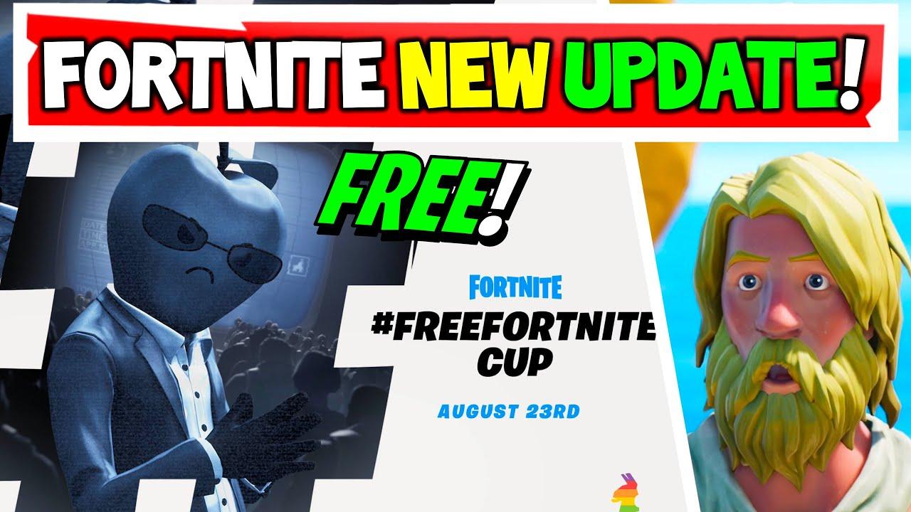 Fortnite Update   FREE APPLE Head SKIN! How to Get in Fortnite!