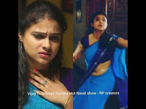 Vijay Tv actress Kavitha Navel HD 1080p~RP
