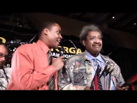 Ricardo Mayorga and Don King: