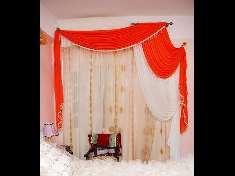 ستائر شيفون غرف نوم فى منتهى الجمال ج 1  Chiffon curtains