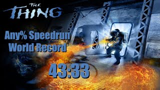 The Thing Any% Speedrun WR 43:33