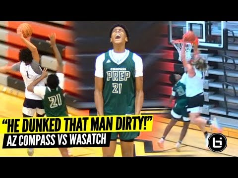 Caleb Lohner And Frankie Collins Go At It! AZ Compass VS Wasatch
