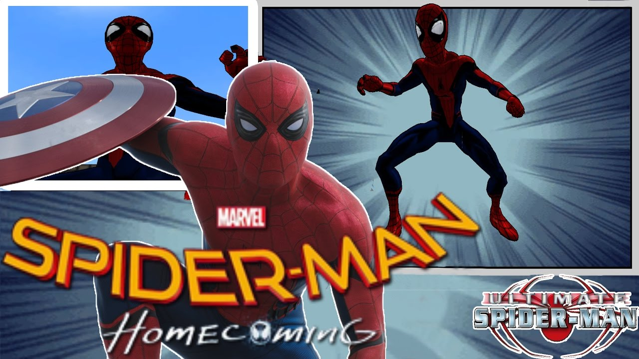 ultimate spiderman spiderman homecoming