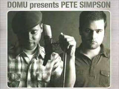 Domu Presents Pete Simpson - The Way I See