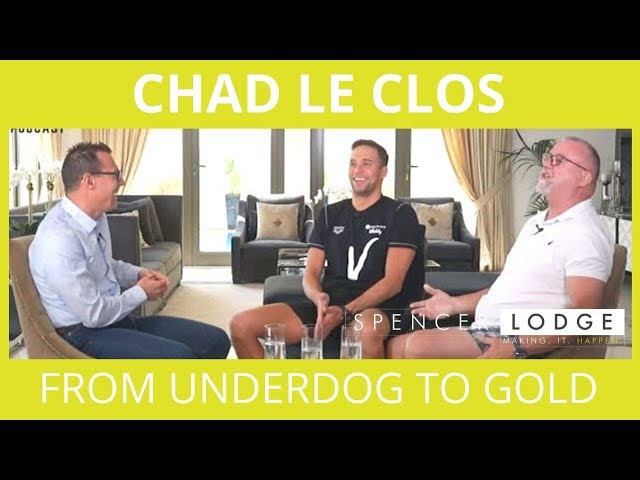 Chad Le Clos - The Story Behind His Olympic Medals