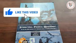 IFM International Financial management B.com 5th sem 2020 (Finance Group)