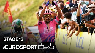 Tour de France 2020 - Stage 13 Highlights | Cycling | Eurosport