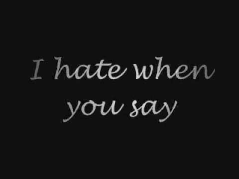 How You Love Me Now - Lyrics -  Hey Monday