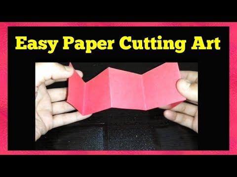 Amazing Paper Cutting Ideas / Easy Paper Cutting Craft Design – Shikha Vibes