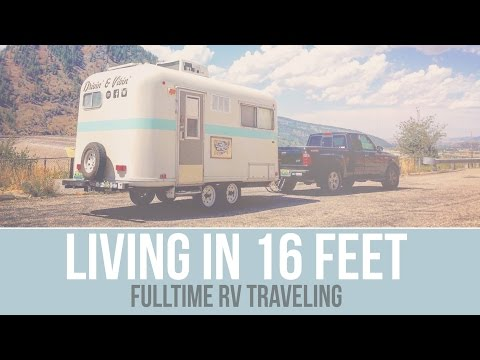 Q&A - Living in a Small Camper - Fulltime RV Traveling - a Drivin' & Vibin' Travel Vlog