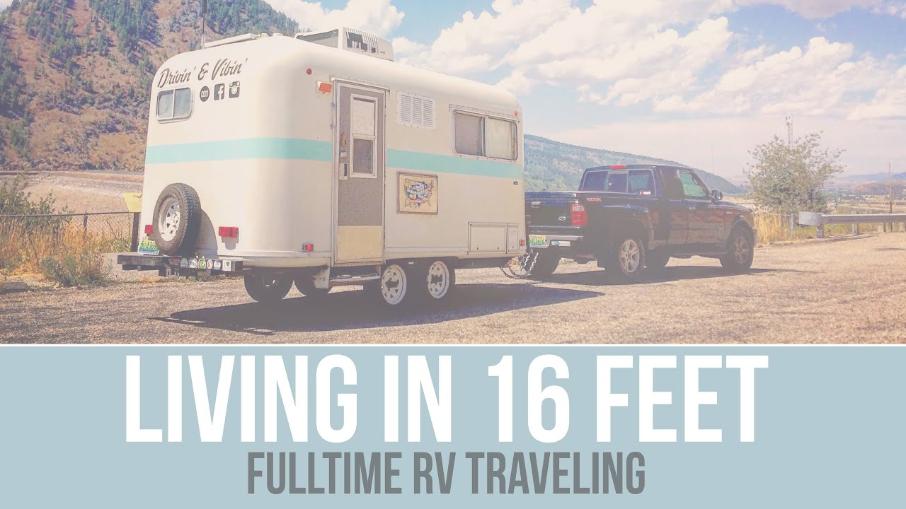 Q Amp A Living In A Small Camper Fulltime Rv Traveling A
