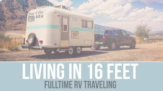 Q - Living in a Small Camper - Fulltime RV Traveling - a Drivin' & Vibin' Travel Vlog