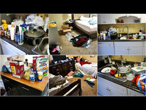 EXTREMELY DIRTY HOUSE | EXTREME CLEANING MOTIVATION | CLEAN WITH ME | ULTIMATE CLEAN WITH ME