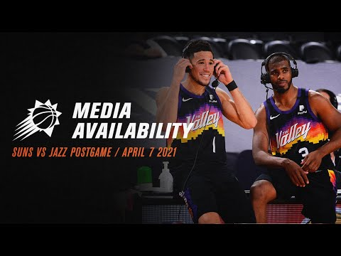 Johnson, Ayton, Booker & Paul: Suns vs Jazz Postgame Media Availability (4/7/21)