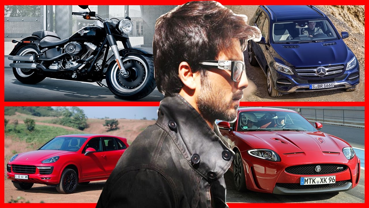 Shahid Kapoor Car And Bike Collection Bollywood Star Shahid Kapoor