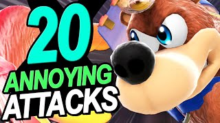 20 MOST ANNOYING Attacks In Smash (DLC Edition)