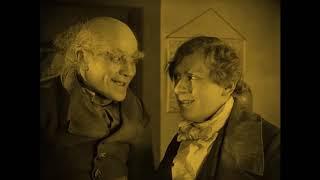 """Самый Первый Фильм Ужасов Про Вампиров """"Носферату, Симфония Ужаса"""" 1922 Год Германия (Сцена 1)"""