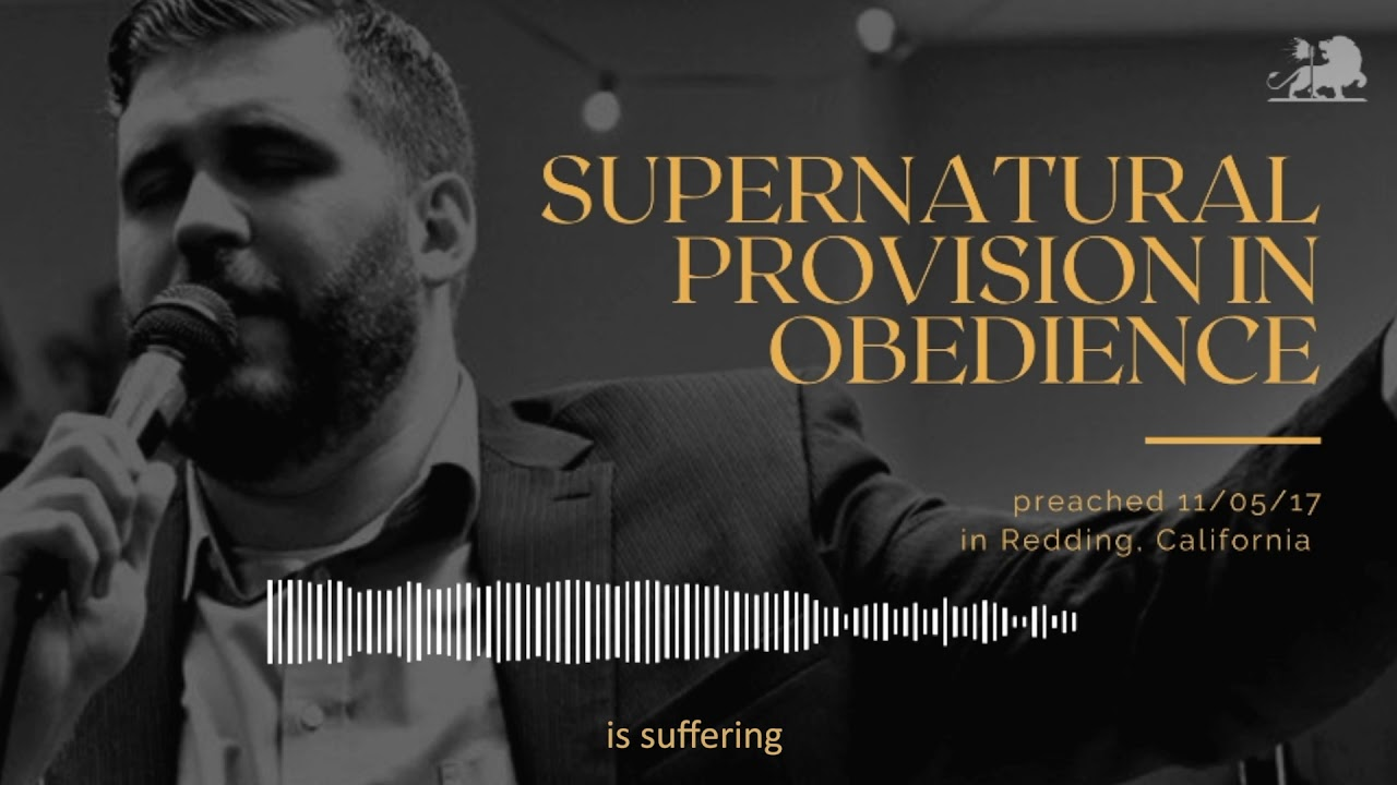 SUPERNATURAL PROVISION IN OBEDIENCE