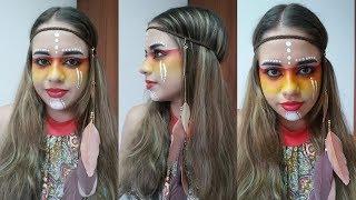 Video Fácil Maquillaje para Halloween India - Halloween Makeup Indian - Belleza sin Limites download MP3, 3GP, MP4, WEBM, AVI, FLV Juni 2018