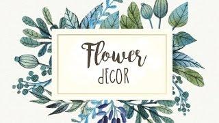 Цветочный декор: на свадьбу и не только!
