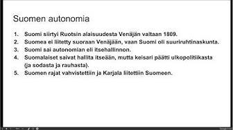 Suomen autonomia