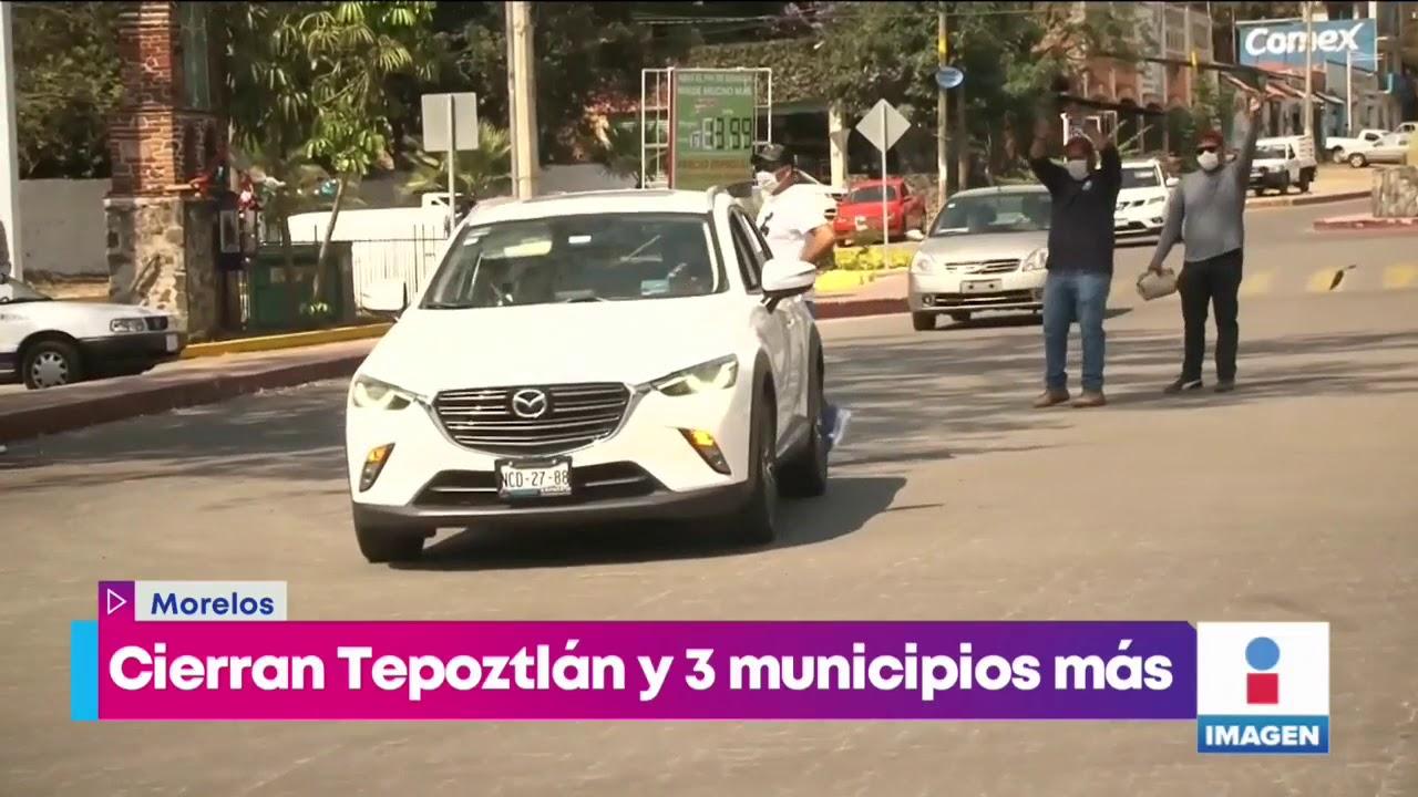 Cierran accesos a Tepoztlán por contingencia | Noticias con ...
