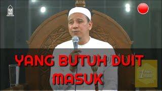 Yang Butuh Duit alias Uang MASOOOK Habib Novel Alaydrus