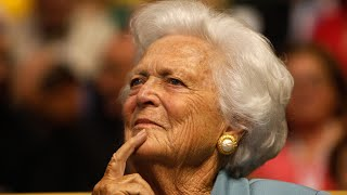 Former US first lady Barbara Bush dies aged 92