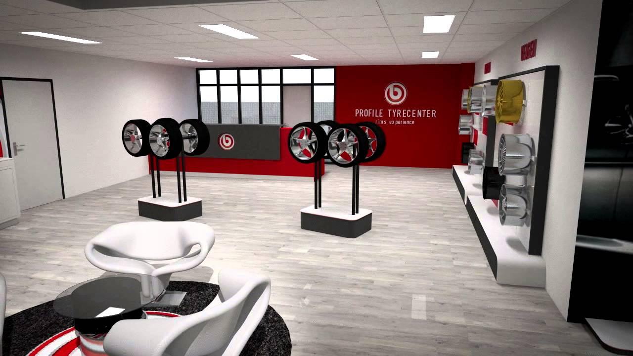 van keulen interieurbouw animatie profile tyrecenter