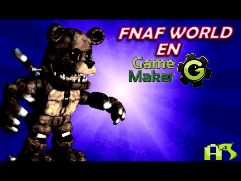 Como hacer un juego de FNAF World en game maker #2 Elige tu equipo