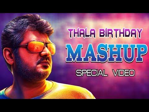 THALA Birthday Mashup - 2020 | Thalaivanaga Thala Groups