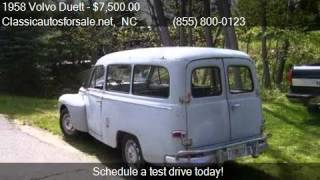 1958 Volvo Duett  for sale in Nationwide, NC 27603 at Classi #VNclassics