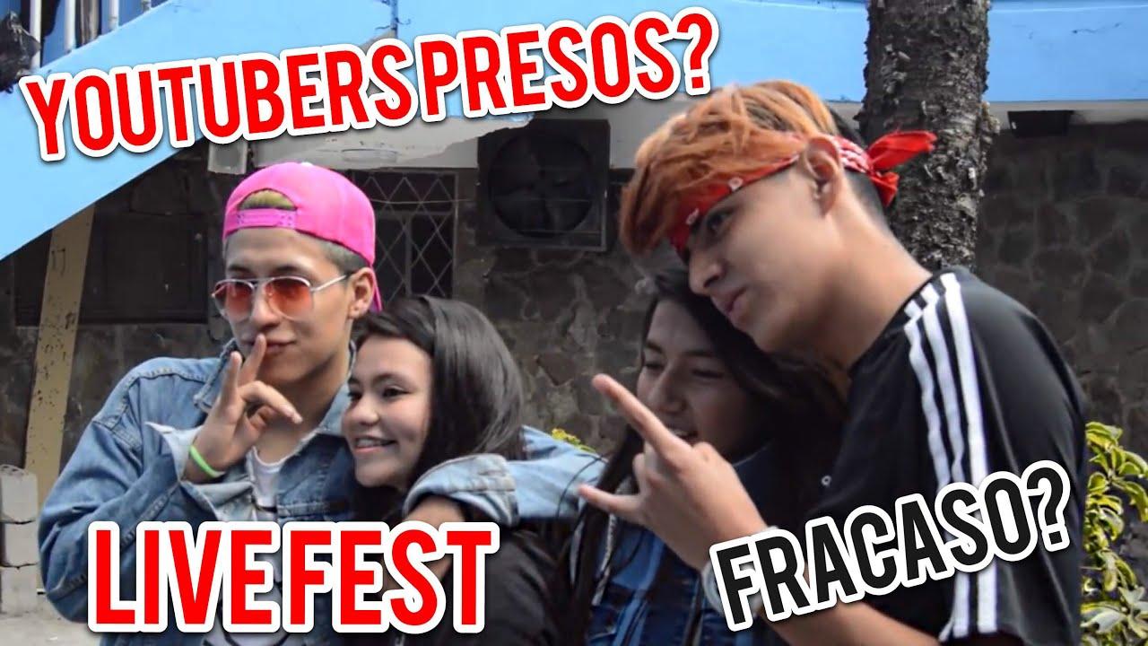 LIVE FEST ECUADOR! *un fracaso* - LOS QUERUBINES 03