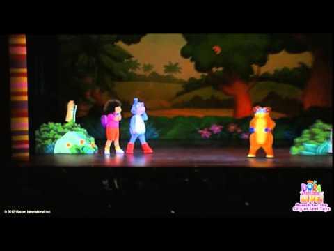 Dora the Explorer LIVE! - Sizzle