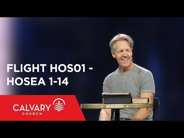 Hosea 1-14 - The Bible from 30,000 Feet  - Skip Heitzig - Flight HOS01