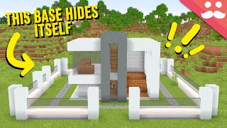 My Dream Hidden Base in Minecraft