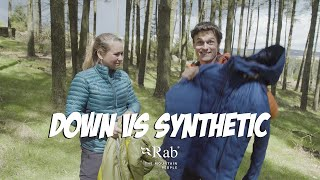 Down vs Synthetic Insulation | Rab Gear Guide
