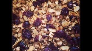 Recipe: Homemade Cranberry Almond Granola!