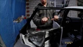 Как установить стекло задней двери ВАЗ 2109 2110 2111
